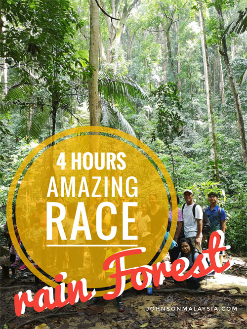 amazing race rain forest